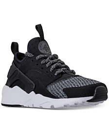 Nike Big Boys'   Air Huarache Run Ultra SE Running Sneakers from Finish Line