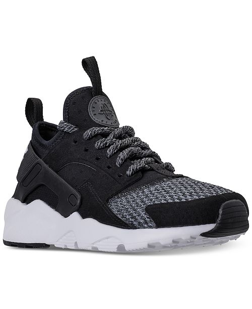 on sale 96a8d 2d4ac ... Nike Big Boys  Air Huarache Run Ultra SE Running Sneakers from Finish  Line ...