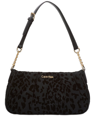 Calvin Klein Nylon Demi Medium Shoulder Bag