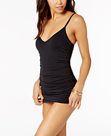 Vince Camuto Ruched Swimdress