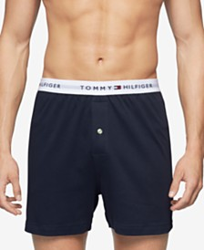 Tommy Hilfiger Men's Underwear, Athletic Knit Boxer