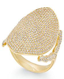 Diamond Pavé Dome Ring (1-1/2 ct. t.w.) in 14k Gold