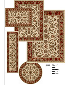KM Home Vienna Meshed 5-Pc. Rug Set