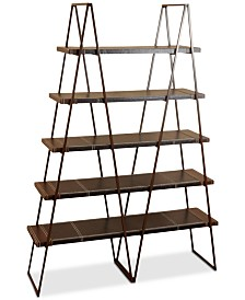 Lyndor 5-Shelf Bookcase, Quick Ship