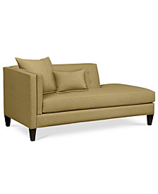 Braylei Fabric Chaise - Custom Colors, Created for Macy's