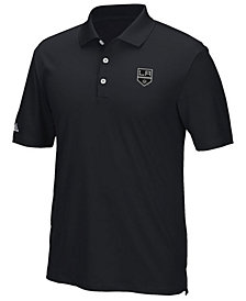 adidas Men's Los Angeles Kings Power Play Primary Polo