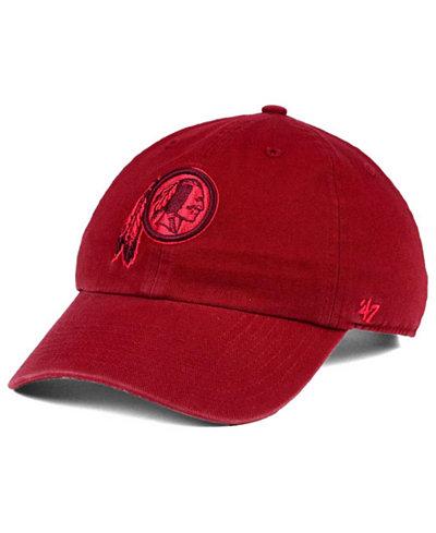 '47 Brand Washington Redskins Triple Rush CLEAN UP Cap