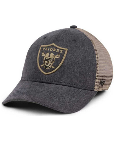 '47 Brand Oakland Raiders Summerland Contender Flex Cap
