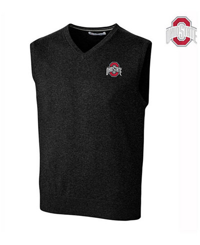 Cutter & Buck Men's Ohio State Buckeyes Lakemont Sweater Vest