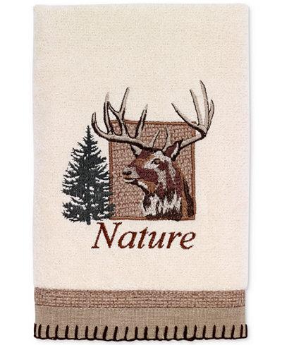Avanti Nature Walk Cotton Embroidered Hand Towel