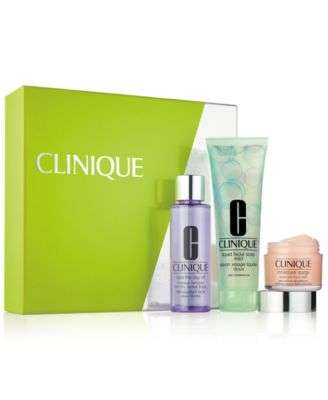 Clinique 3-Pc. Super Skincare Gift Set, Created for Macy's - Gifts ...