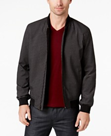 Alfani Men's Printed Bomber & Soft-Touch T-Shirt, Created for Macy's