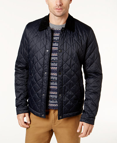 Barbour Men's Quilted Jacket - Coats & Jackets - Men - Macy's : quilted mens jacket outerwear - Adamdwight.com