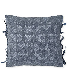 "CLOSEOUT! Croscill Lucine 18"" Square Decorative Pillow"