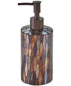 Brown Mosaic Bathroom Accessories. Product Picture Autumn Mosaic Bath Accessories  Created for Macy s Bathroom