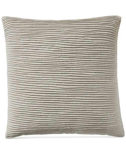 Hotel Collection Pebble Diamond European Sham