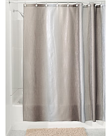 "Interdesign Ombré Textured 72"" x 72"" Shower Curtain"