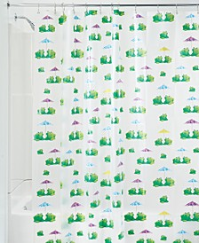 "Frogs 72"" x 72"" Shower Curtain"