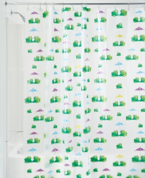 Interdesign Frogs 72 x 72 Shower Curtain Bedding