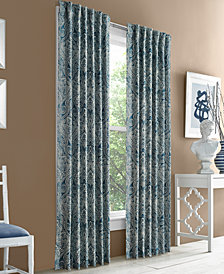 "J Queen New York Hampton Blackout 50"" x 84"" Grommet Curtain Panel"