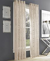 J Queen New York Lazer Grommet Curtain Panels