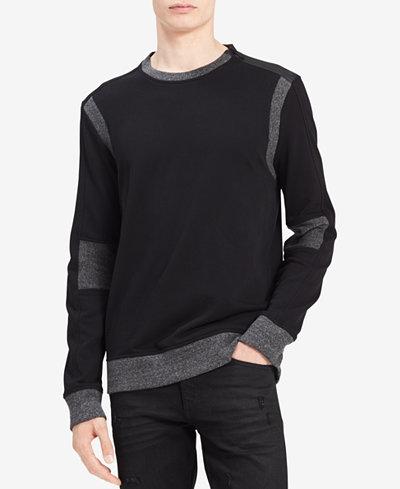Calvin Klein Jeans Men's Moto Sweatshirt