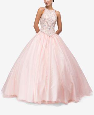 DANCING QUEEN | Dancing Queen Juniors' Embellished Gown | Goxip