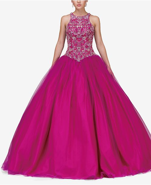 Dancing Queen Juniors' Embellished Gown