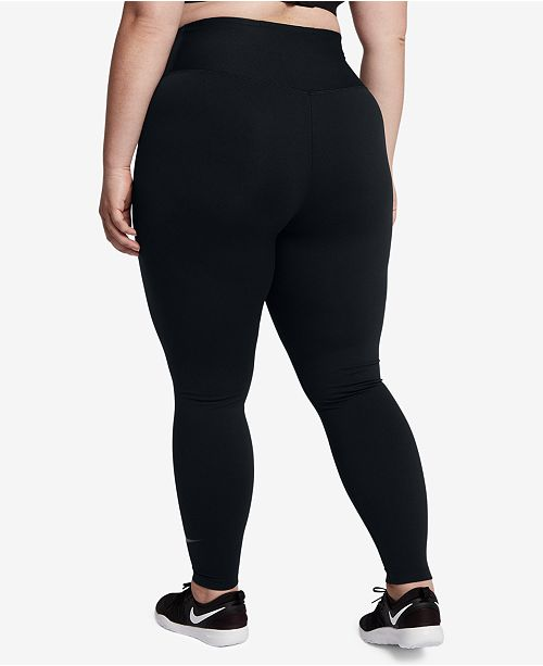 70ca34f69743b Nike Plus Size Power Sculpt Compression Leggings   Reviews - Pants ...