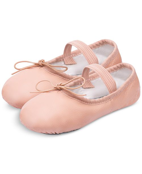 Flo Dancewear Ballet Slippers, Little Girls & Big Girls
