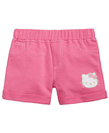 Hello Kitty Little Girls Knit Shorts