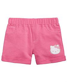 Hello Kitty Little Girls Knit Shorts