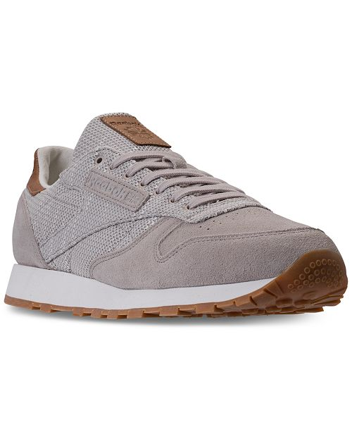 Reebok Men s Classic Leather EBK Casual Sneakers from Finish Line ... a485c6a2f