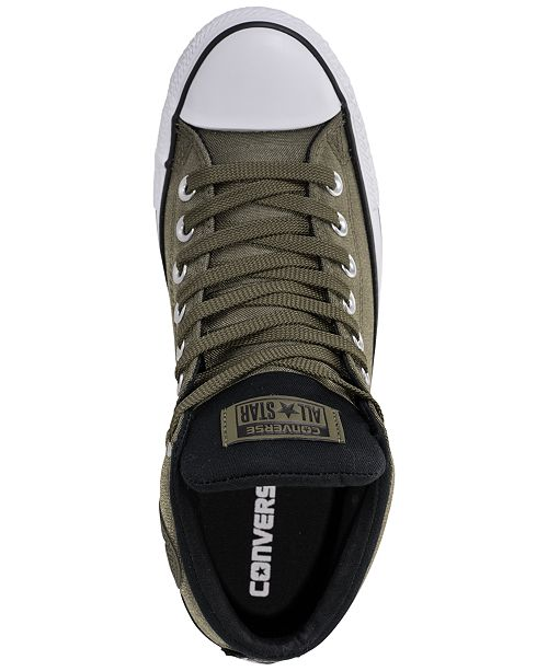46e220831f2321 ... Converse Men s Chuck Taylor All Star High Street Casual Sneakers from  Finish ...