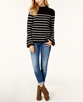 Charter Club Cashmere Bell-Sleeve Sweater, Created for Macy's