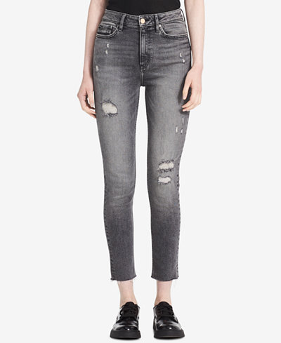 Calvin Klein Jeans Ripped Skinny Jeans