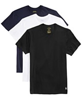 Polo Ralph Lauren Men s 3-Pk. Classic Cotton T-Shirts 1db33fee94a4b