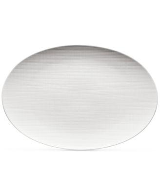 Mesh Flat Oval Platter