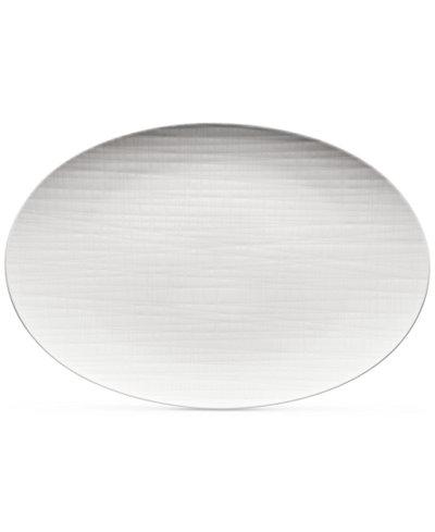 Thomas Rosenthal Mesh Flat Oval Platter