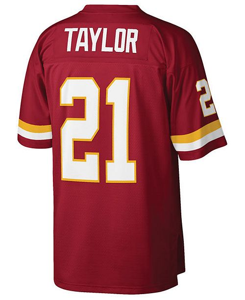 082c18404 ... Mitchell & Ness Men's Sean Taylor Washington Redskins Replica Throwback  Jersey ...