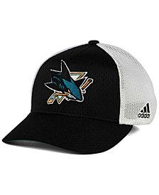 adidas San Jose Sharks Mesh Flex Cap