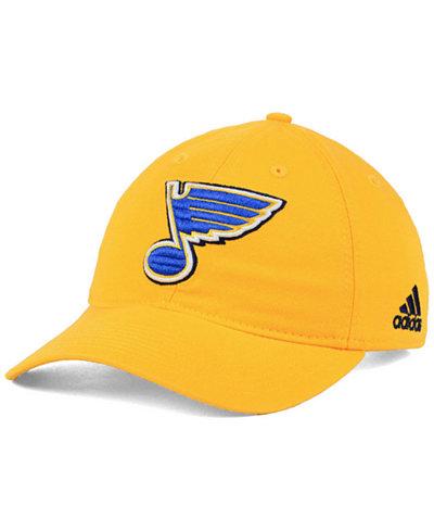 adidas St. Louis Blues Core Slouch Cap