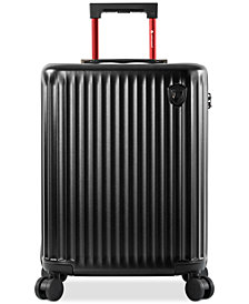 "Heys SmartLuggage® 21"" Hardside Spinner Carry-On Suitcase, Created for Macy's"