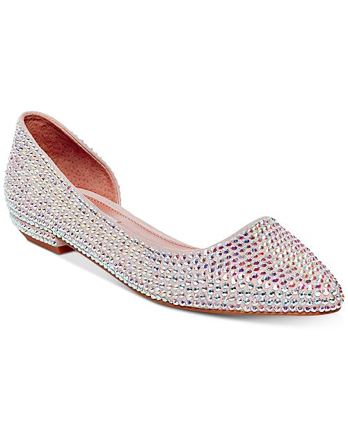096fc2cda4acd Steve Madden Women's Estela Embellished Flats & Reviews - Flats ...