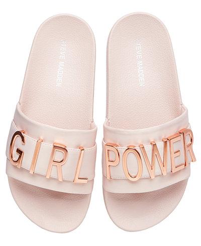 Women's Word Slide Sandal