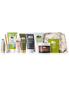 Receive a FREE 9pc beauty gift with any $75 Origins Purchase (A $100 Value)!