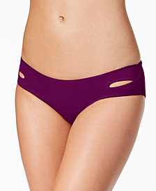 Becca Color Code Cutout Hipster Bikini Bottoms