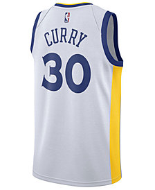 Nike Men's Stephen Curry Golden State Warriors Association Swingman Jersey