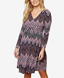 Motherhood Maternity Printed A-Line Dress