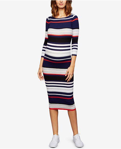 Maternity Sheath Midi Dress
